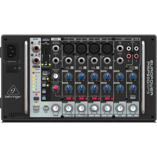 Behringer - Europower PMP500 MP3 keverőerősítő