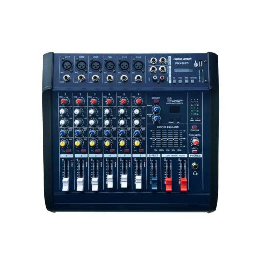 Voice Kraft - PMX602D Powermixer 2x250W/4Ohm
