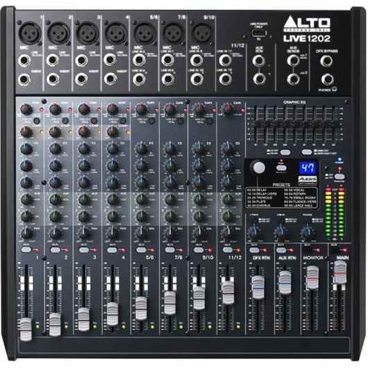 Alto - LIVE1202 Felülről