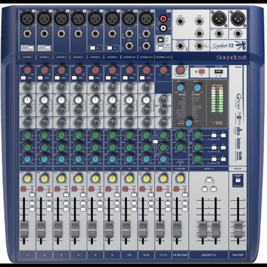 Soundcraft - Signature 12 USB-s Keverő