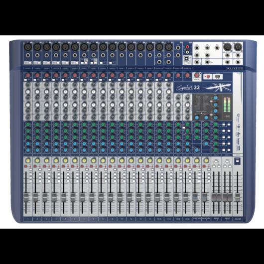 Soundcraft - Signature 22 USB-s Keverő