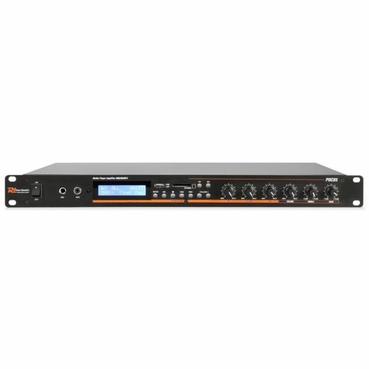 Power Dynamics - PDC-85 Médialejátszó USB/SD/MP3/BT erősítővel