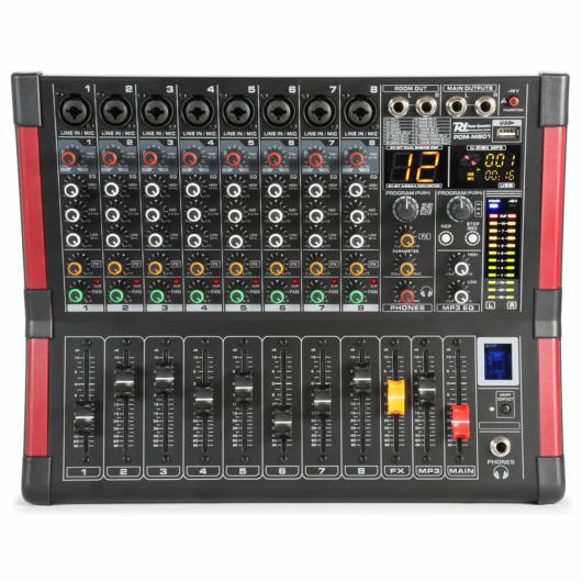 Power Dynamics - PDM-M804 8 Csatornás zekekari keverő