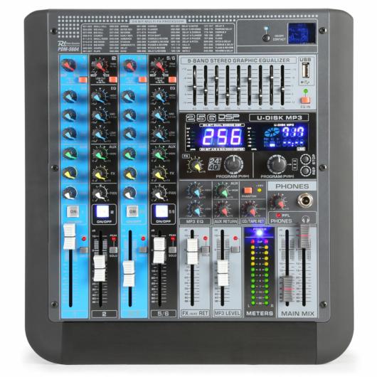 Power Dynamics - PDM-S604 6 Csatornás zenekari keverő