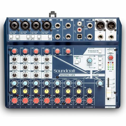 Soundcraft - Notepad-12FX