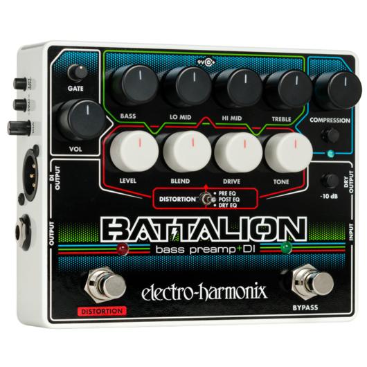 Electro-harmonix effektpedál - Bass preamp, DI