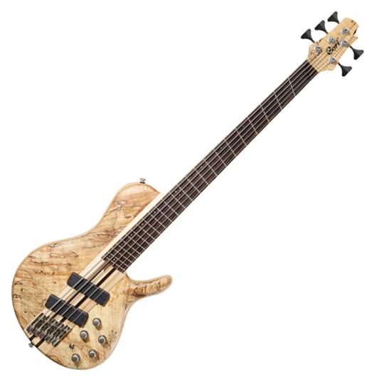 Cort el.basszusgitár 5 húros, Multi Scale, keménytokkal