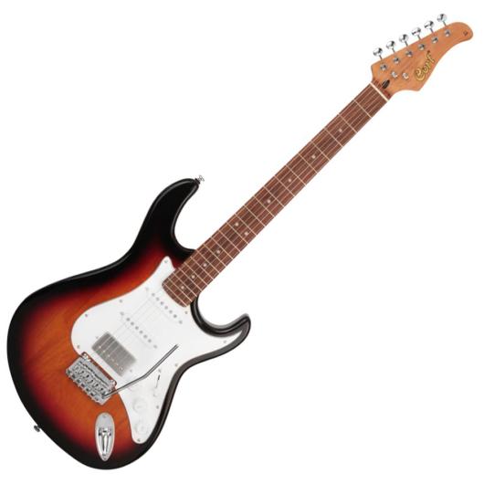 Cort elektromos gitár, sunburst