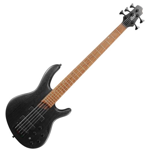 Cort el.basszusgitár, 5 húros, Markbass Preamp, fekete