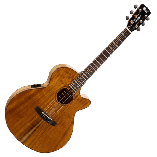 Cort akusztikus gitár EQ-val, amerikai babér