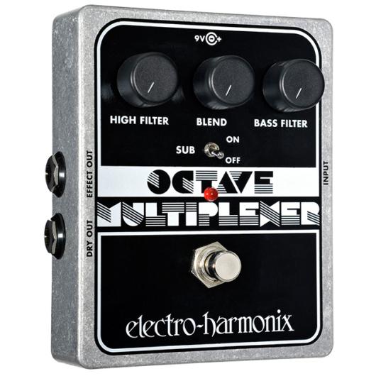Electro-harmonix effektpedál Octave multiplexer