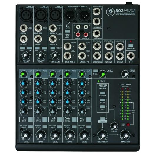 Mackie - 802 VLZ4 Mixer