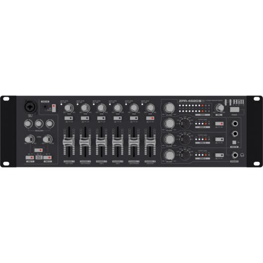 Hill Audio - ZPR-4620V2 4 zónás keverő, szemből