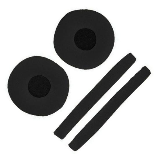 Zomo - fülpárna Sennheiser HD-25-höz fejpárnával fekete velúr