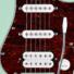 Kép 5/7 - Cort - G110-CGN elektromos gitár karibi zöld