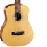 Kép 2/7 - Cort akusztikus mini gitár, matt natúr, tokkal