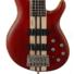 Kép 7/8 - Cort - A5Plus-FMMH-OPBC Artisan 5 húros elektromos basszusgitár matt vörös ajándék félkemény tok