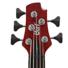 Kép 8/8 - Cort - A5Plus-FMMH-OPBC Artisan 5 húros elektromos basszusgitár matt vörös ajándék félkemény tok