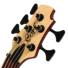 Kép 6/7 - Cort - B5Plus-AS Artisan 5 húros elektromos basszusgitár natúr ajándék félkemény tok