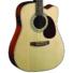 Kép 6/8 - Cort akusztikus gitár elektronikával, natúr