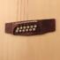 Kép 7/8 - Cort - GA-MEDX-12-OP 12-húros akusztikus gitár elektronikával natúr ajándék húrtisztító