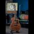 Kép 7/13 - Cort akusztikus gitár Fishman EQ, mahagóni, natúr