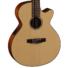 Kép 6/11 - Cort - CEC-3-NS Klasszikus gitár elektronikával matt natúr