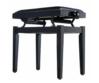 Soundsation - SBH-100P-BK fa zongorapad műbőr ülőfelülettel