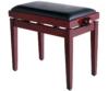 Soundsation - SBH-100P-MH fa zongorapad műbőr ülőfelülettel mahagóni