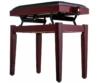 Soundsation - SBH-100P-MH fa zongorapad műbőr ülőfelülettel, emelve