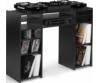 Zomo - Deck Stand Vegas fekete, keverővel és lemezekkel