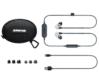 Shure - SE-215-CL-BT1-EFS hangszigetelt bluetooth fülhallgató, csomag tartalma