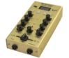 OMNITRONIC - GNOME-202P Mini Mixer gold döntve
