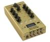OMNITRONIC - GNOME-202P Mini Mixer gold döntve 2