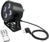 EUROLITE - Set 4x LED PS-4 HCL + Soft Bag + Controller ledlámpa