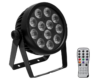 EUROLITE LED 7C 7 Silent Slim Spot távirányítóval