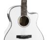 Cort - GA5F-WH akusztikus gitár Fishman EQ-val fehér, fedlap