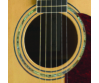 Cort - MR710F-PF-NAT Akusztikus gitár elektronikával natúr, húrok