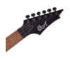Cort - X250-BK elektromos gitár fekete, fej