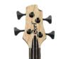 Cort - B4PlusLH-AS Artisan balkezes elektromos basszusgitár natúr, kulcsok