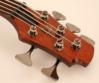 Cort - B5Plus-MH Artisan 5 húros elektromos basszusgitár mahagóni, kulcsok