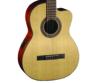 Cort - AC120CE-OP klasszikus gitár elektronikával matt natúr ajándék puhatok