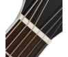 Cort - GA5F-WH akusztikus gitár Fishman EQ-val fehér ajándék félkemény tok