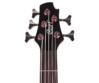 Cort - ActionVPlus-BK 5 húros elektromos basszusgitár fekete ajándék puhatok