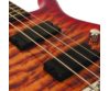 Cort - ActionDLXV Plus-CRS 5 húros elektromos basszusgitár cherry sunburst