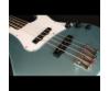 Cort - GB54JJ-SPG elektromos basszusgitár zöld ajándék félkemény tok