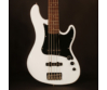 Cort - GB55JJ-OW 5 húros elektromos basszusgitár fehér ajándék félkemény tok