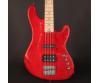 Cort - GB74JH-TR elektromos basszusgitár piros ajándék félkemény tok