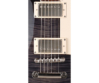 Cort - CR250-TBK elektromos gitár fekete ajándék félkemény tok